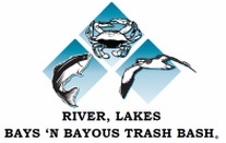 River, Lakes, Bays 'N Bayou 2018 Trash Bash @ Various locations